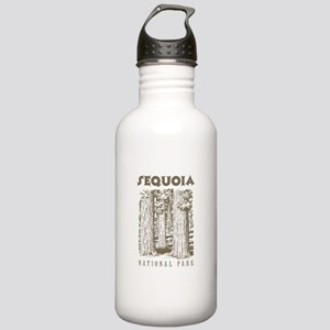 Sequoia National Park Trees Water Bottle