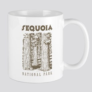 Sequoia National Park Trees Mugs