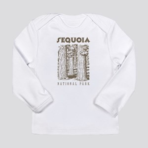 Sequoia National Park Trees Long Sleeve T-Shirt