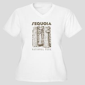 Sequoia National Park Trees Plus Size T-Shirt