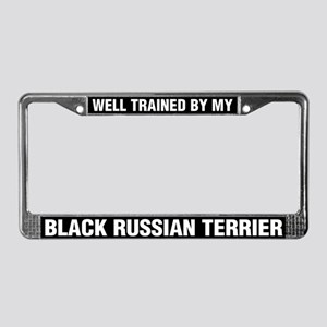 Well Trained By My Black Russian Terrier