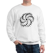 Harmonic Spiral Crop Circle Sweatshirt