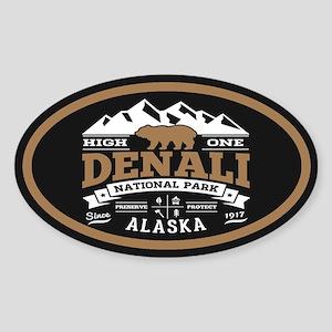 Denali Vintage Sticker (Oval)