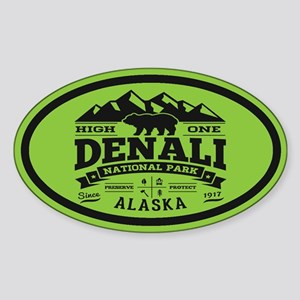 Denali Vintage Sticker (Oval)