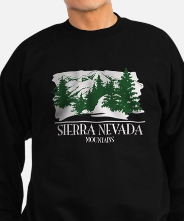 Sierra Nevada Mountain Range Sweatshirt