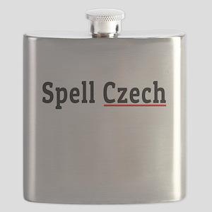 Spell Czech Flask