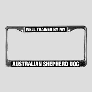 Well Trained By My Australian Shepherd Dog