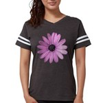 Purple Daisy Womens Football Shirt