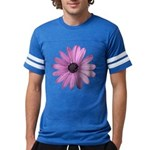 Purple Daisy Mens Football Shirt