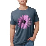 Purple Daisy Mens Tri-blend T-Shirt