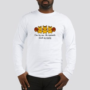 One by One The Squirrels Long Sleeve T-Shirt