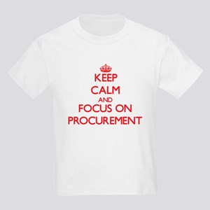 Keep Calm and focus on Procurement T-Shirt