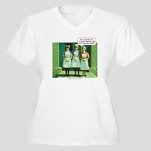I Can Hardly Wait Women's Plus Size V-Neck T-Shirt
