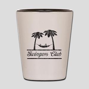 Swingers club T-shirts Shot Glass