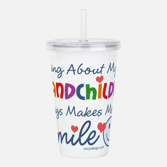 Cute My auntie loves me Acrylic Double-wall Tumbler