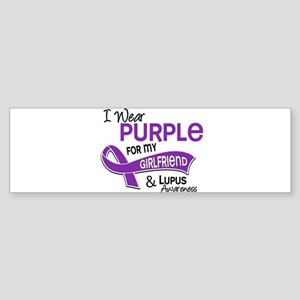 D I Wear Purple For My Girlfriend 42 Lupus Bumper