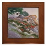 17 Mile Drive Framed Tile