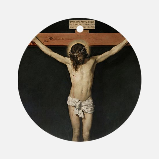 Jesus Crucifiixion Ornament (Round)