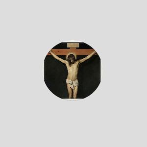Jesus Crucifiixion Mini Button