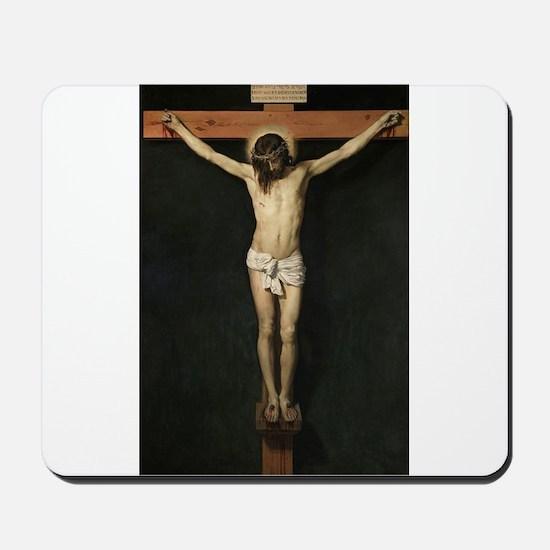 Jesus Crucifiixion Mousepad