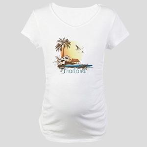 Thailand Tropical Maternity T-Shirt