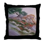 17 Mile Drive Throw Pillow
