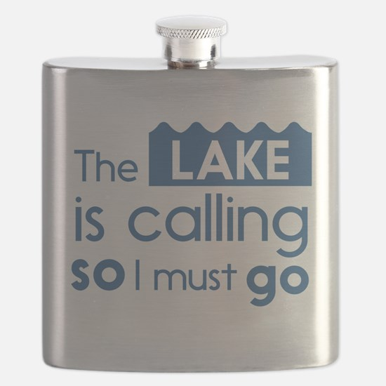 The lake is calling so I must go Flask