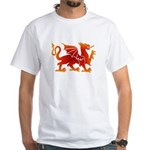 Dragon tattoo White T-Shirt