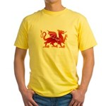 Dragon tattoo Yellow T-Shirt