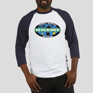 Geocacher Baseball Jersey