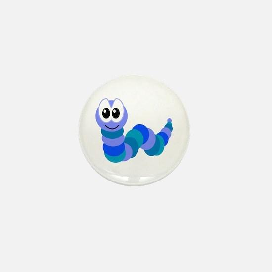 Cute Little Goofkins Caterpillar Mini Button