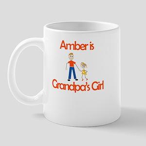Amber is Grandpa's Girl Mug