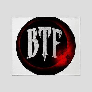 Beneath the Fallen Logo Throw Blanket