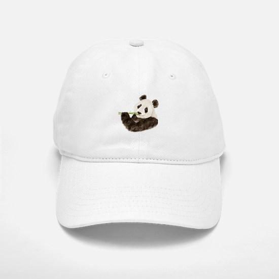 Watercolor Panda Asian Bear Hat