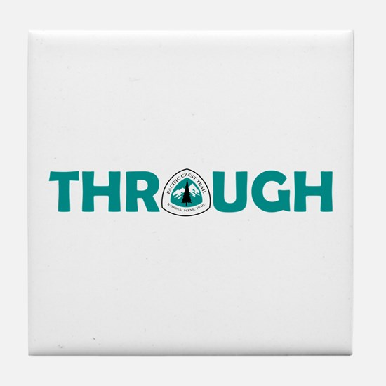 Pacific Crest Trail Through Hike Tile Coaster