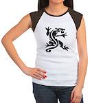 Black Panther Tattoo Women's Cap Sleeve T-Shirt