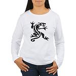Black Panther Tattoo Women's Long Sleeve T-Shirt