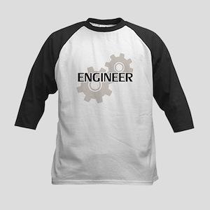 Engineer Clockwork Gears Baseball Jersey