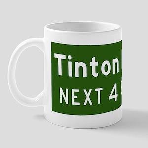 Tinton Falls, NJ Parkway Exit Mug