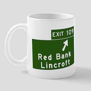 Red Bank, Lincroft, NJ Parkwa Mug