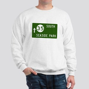 Seaside Park, NJ Parkway Exit Sweatshirt