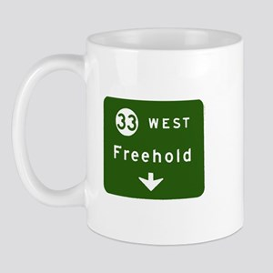 Freehold, NJ Parkway Exit T-s Mug