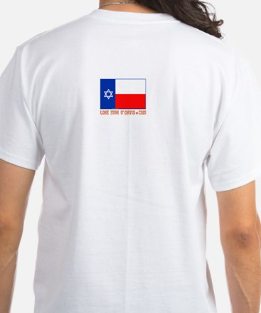 LONE STAR O'DAVID.... White T-Shirt