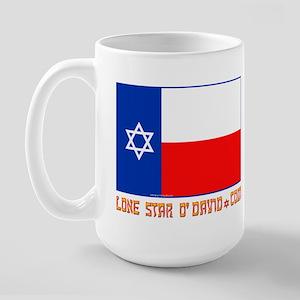LONE STAR O'DAVID.... Large Mug