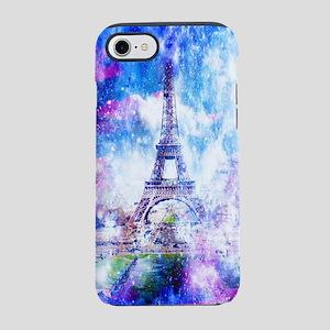 Rainbow Universe Paris iPhone 7 Tough Case