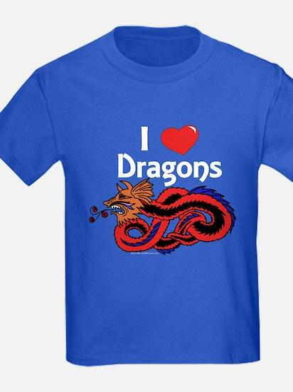 I Love Dragons T