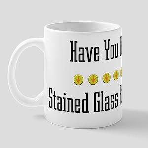 Hugged Stained Glass Artist Mug