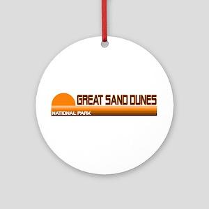 Great Sand Dunes National Par Ornament (Round)