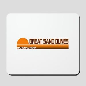 Great Sand Dunes National Par Mousepad