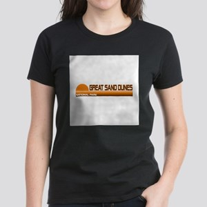 Great Sand Dunes National Par Women's Dark T-Shirt